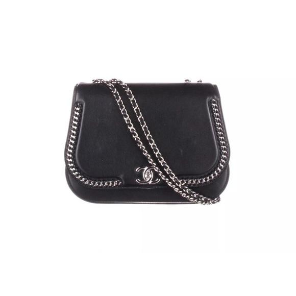 47afad330e02 CHANEL Bags   2017 Braided Chic Flap Black Strap Bag   Poshmark